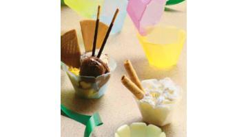 Coppe per gelato in plastica
