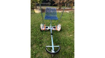 Hoverboard con applicazione seduta