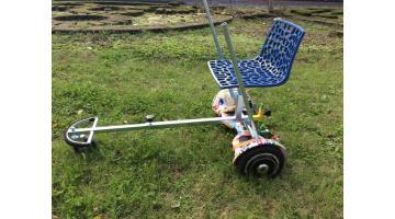 Hoverboard con applicazione seggiolino