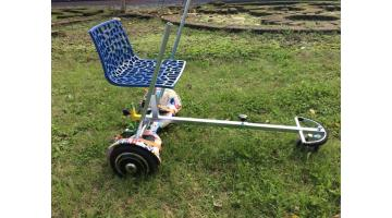 Hoverboard con ruotino antiribaltamento