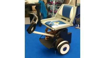 Personal transporter con seggiolino disabili