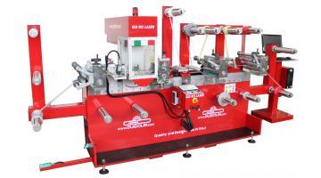 Linea di taglio a laser per etichette e nastri