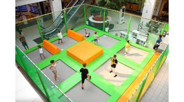 Mini trampoline park per ragazzi fino ai 13 anni