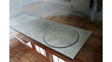 Fresatrice con sistema di carico delle lastre di marmo easy-load