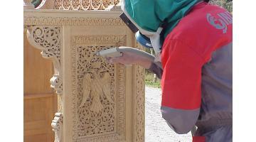 Sabbiatrici per pulizia legno