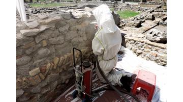 Attrezzatura per pulitura monumenti