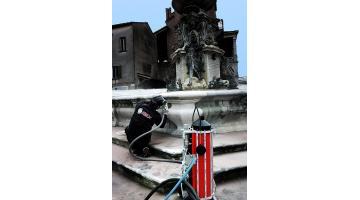Attrezzatura per restauro monumenti
