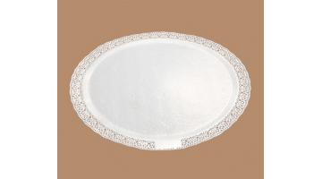 Pizzo impermeabile sottotorta bianco