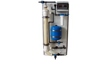 Compact water filtration system