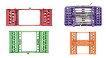 Cassette sterilizzabili per strumentario odontoiatrico