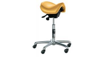 Seggiolino ergonomico per dentisti a sella di cavallo