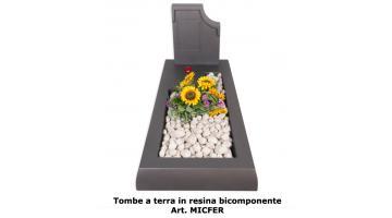 Tombe a terra in resina bicomponente art MICFER