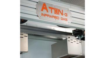 Robot per essiccazione vernici con raggi infrarossi