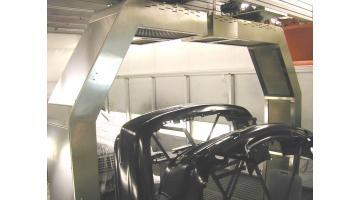 Robot a infrarossi per verniciatura carrozzeria