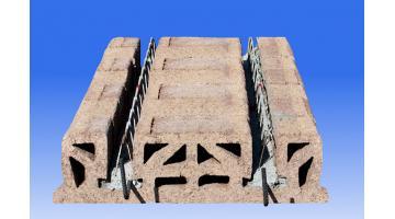 Pannelli solaio in legno cemento