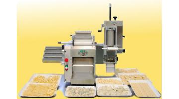 Combined machines for fresh pasta