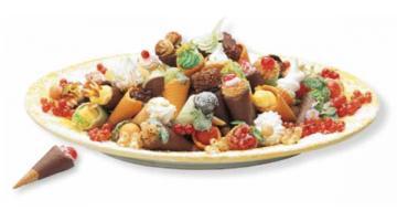 Minicornetto per gelateria