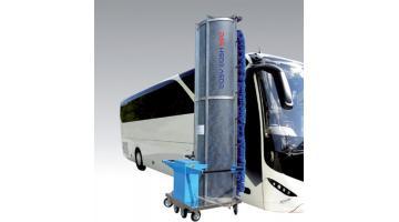 Impianto lavaggio autobus monospazzola