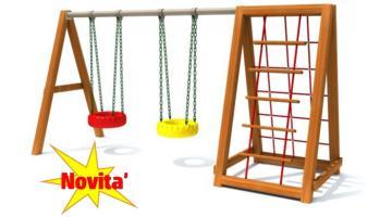Swings for playgrounds Saliscendi