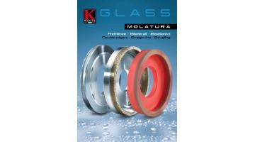 Utensili per macchine bilaterali, rettilinee e bisellatrici lavorazione vetro