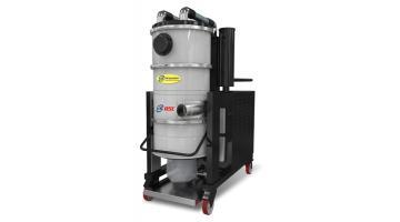 Aspiratori industriali con sistema automatico pulizia filtri