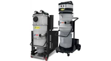 Aspiratori industriali con sistema Longopac