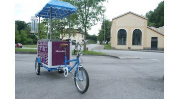 Bici per vendita gelato
