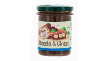Crema spalmabile bio alle nocciole piemontesi e cacao equosolidale