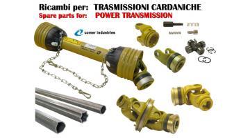 Ricambi e accessori per trasmissioni cardaniche
