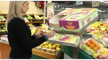 Distribuzione sacchetti biodegradabili per reparto verdura