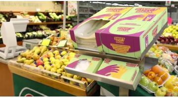 Distribuzione sacchetti per verdura