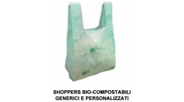 Shoppers bio-compostabili personalizzate
