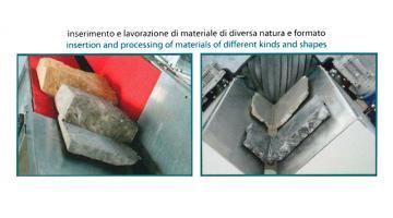 Macchina taglio pietre angolari