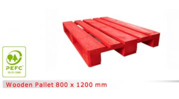 Pallet di legno 800x1200 mm