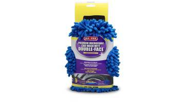 Перчатки Double Face из микрофибры и синели для чистки автомобилей