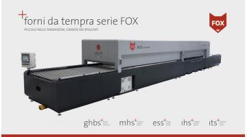 Forni per tempra vetro piccole dimensioni serie Fox
