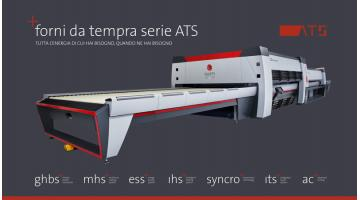Forni orizzontali tempra vetro serie ATS