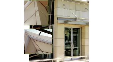 Lastre in marmoresina per facciate ventilate