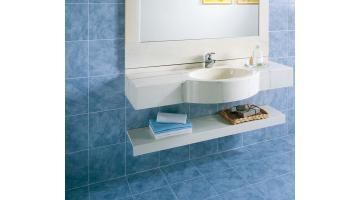 1 bowl sink in marble resin