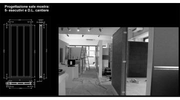Showroom design - executive phase and work site management