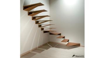 Scale a sbalzo in acciaio marretti - Tipologia di scale ...