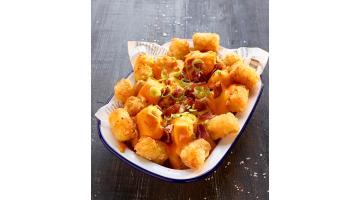 Snack di patate grattugiate