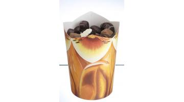Paper containers for chocolates
