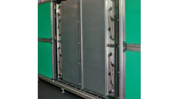 Air conditioning systems with heat storage