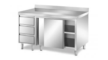 Cupboard stainless steel