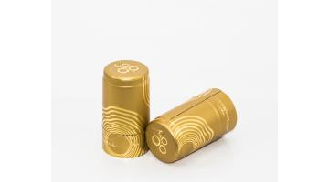 Капсулы в полиоламинате ротационной глубокой печати и горячем тиснении золотом