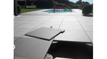 System floating floors for outdoor