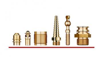 Componenti in ottone per rubinetteria