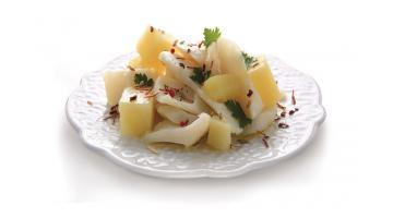 Baccalà pronto con patate per GDO