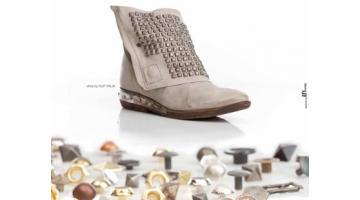Borchia a piramide per calzature